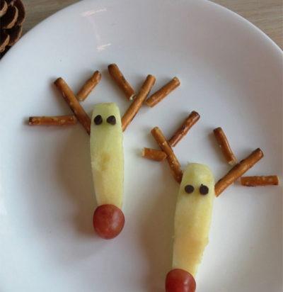 Red-Nose Reindeer Snack