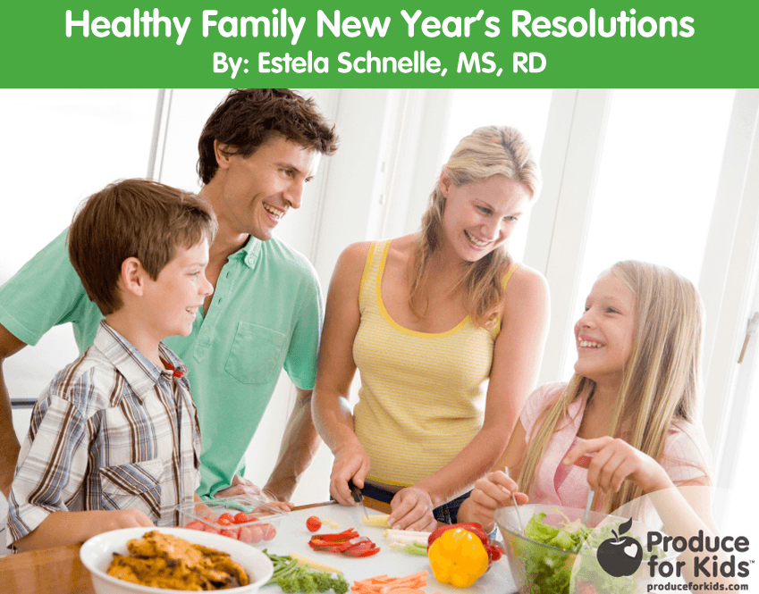 Healthy Family New Year's Resolutions
