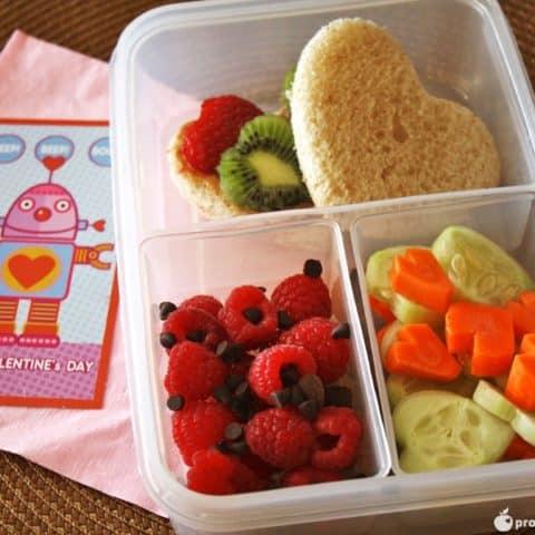 Be My Valentine Bento Box