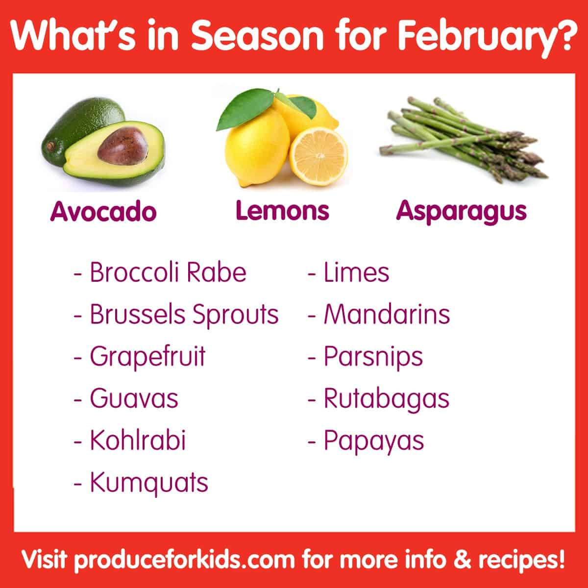 What's in Season for February?
