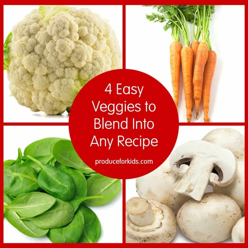4 Easy Veggies to Blend Into Any Recipe