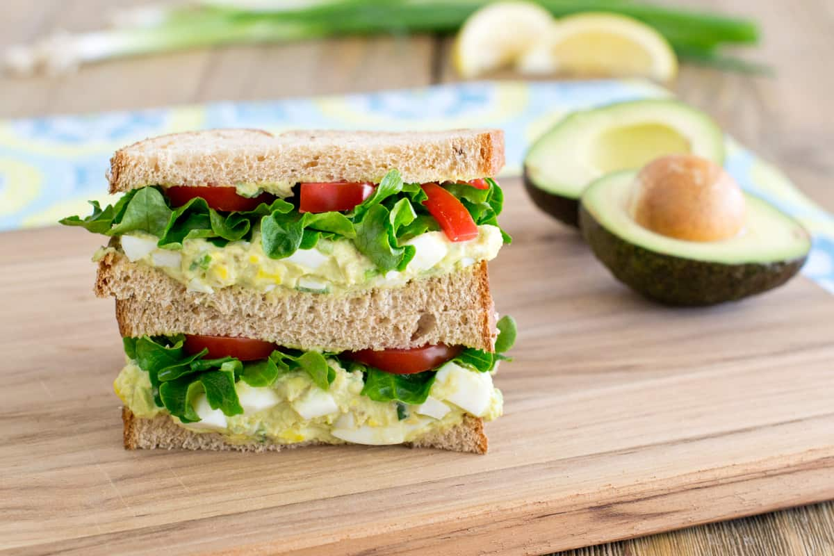 Avocado Egg Salad Recipe Greek Yogurt