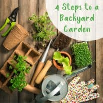 4 Steps to a Backyard Garden