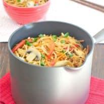 One-Pot Chicken Lo Mein