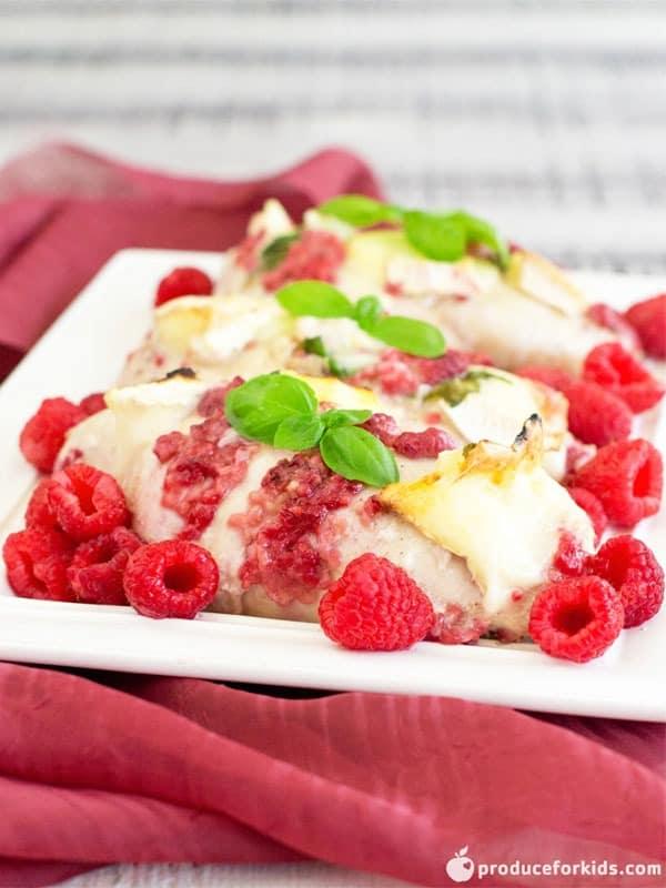 BEST Raspberry Baked Chicken