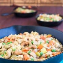 Tofu Vegetable Fried Rice