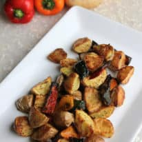 Oven-Roasted Breakfast Potatoes