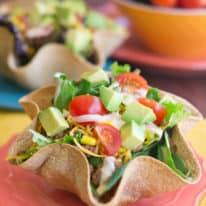 Tex-Mex Taco Salad Bowls