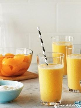 Peach Yogurt Smoothie