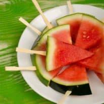 Pomegranate Watermelon Pops