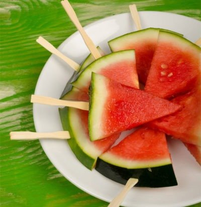Pomegranate Watermelon Pops