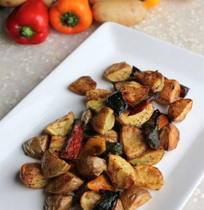 Oven-Roasted Breakfast Potatoes