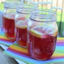 Sparkling Pomegranate Lemonade