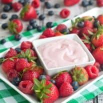 Very Berry Cheesecake Dip