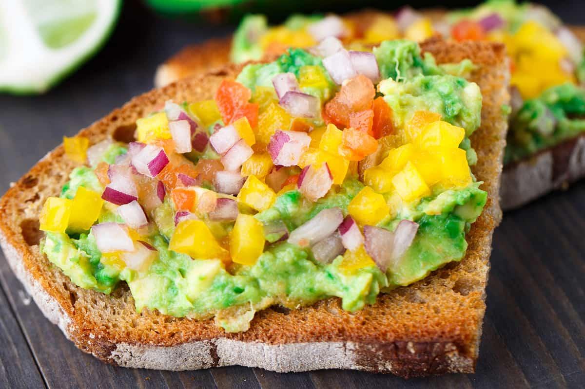 Salsa Avocado Toast