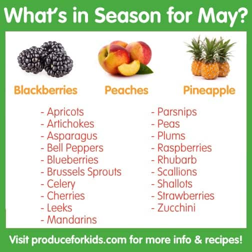 What's in Season for May?
