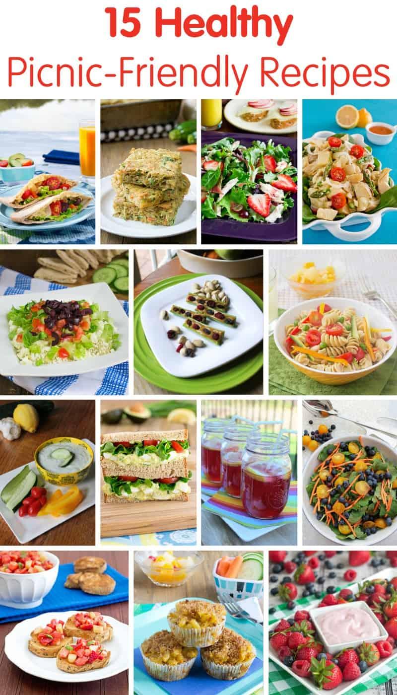 15 Healthy Picnic-Friendly Recipes