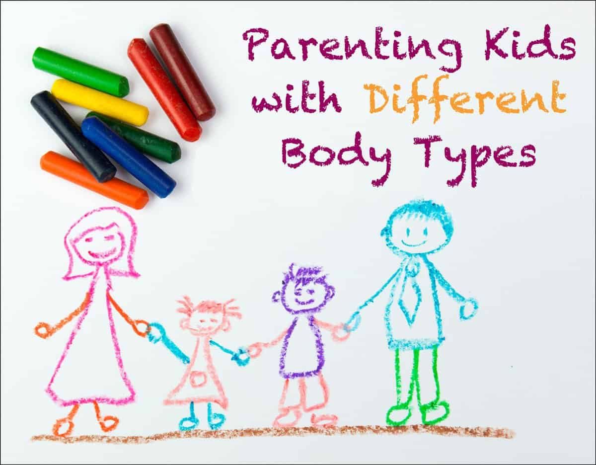 Tips for Parenting Kids With Different Body Types