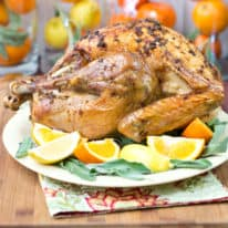 Citrus & Sage Roasted Turkey