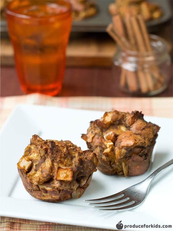 Apple Pumpkin French Toast Muffins