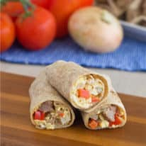 Make-Ahead Freezable Breakfast Burritos