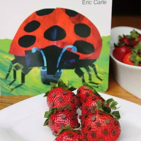 The Grouchy Ladybug Strawberry Snack