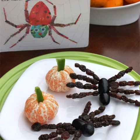 The Very Busy Spider Snack