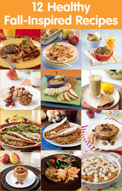 12 Healthy Fall-Inspired Recipes