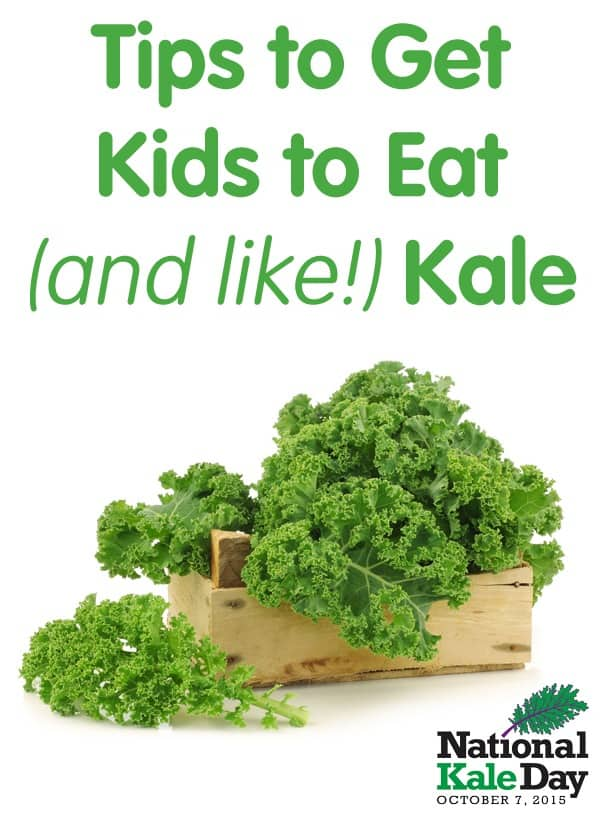 Tips & Recipes for Getting Kids to Eat Kale