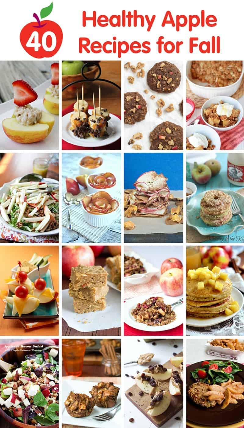 40 Healthy Apples Recipes for Fall