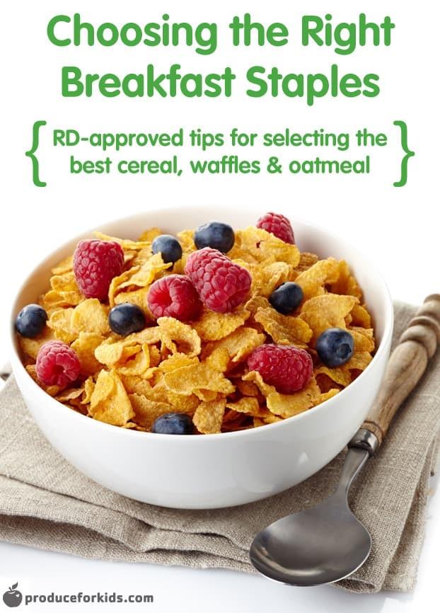 Choosing the Right Breakfast Staples