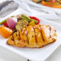Italian Grilled Chicken & Veggies