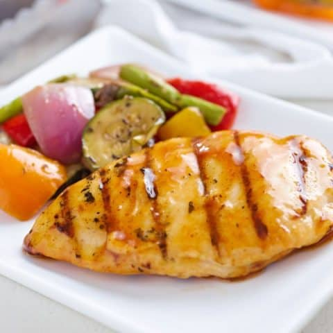 Italian Grilled Chicken & Veggies