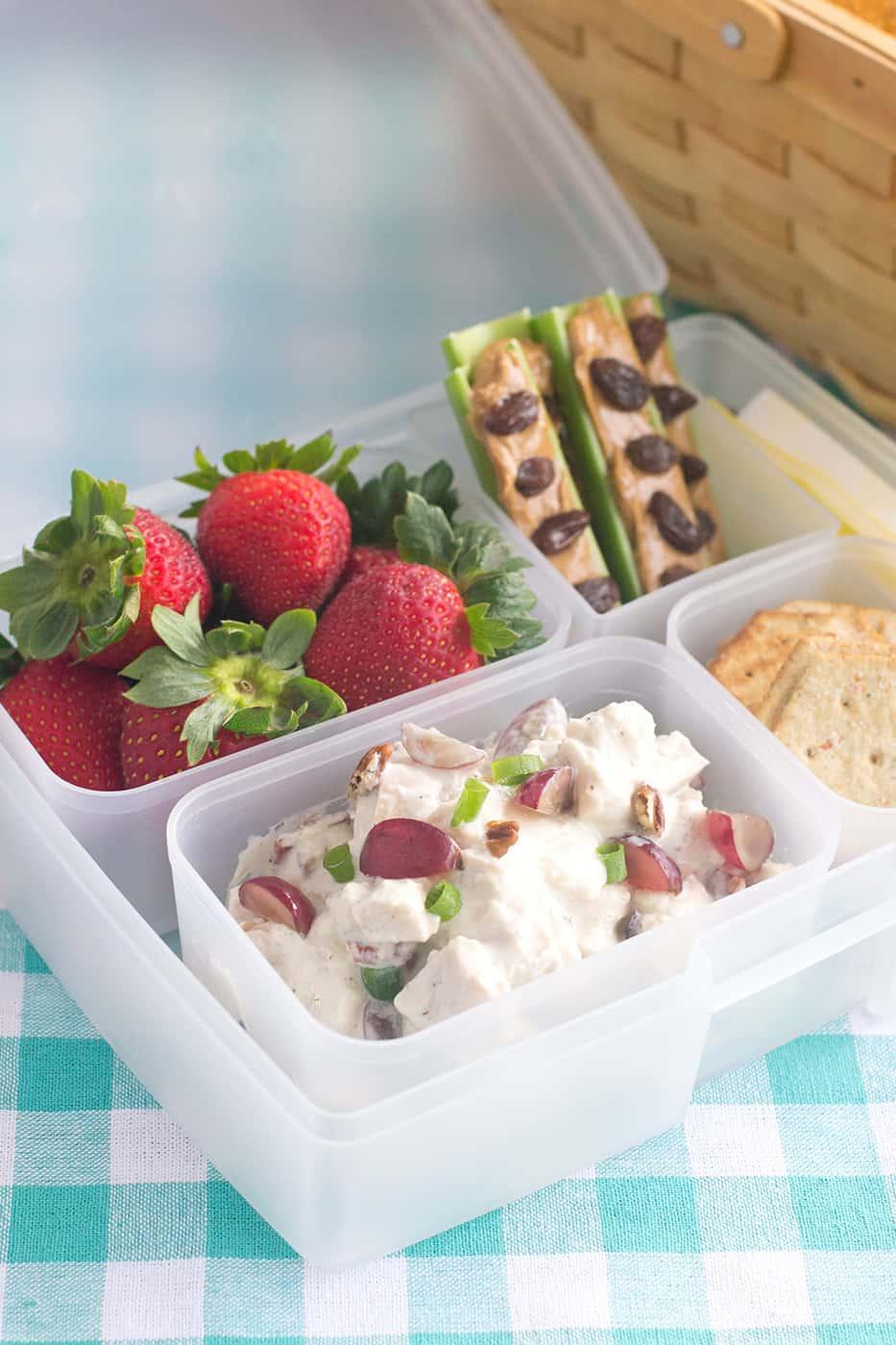 how to make an easy picnic bento box