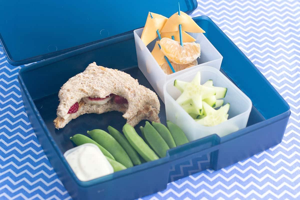 Under the Sea Bento Box Lunch Idea