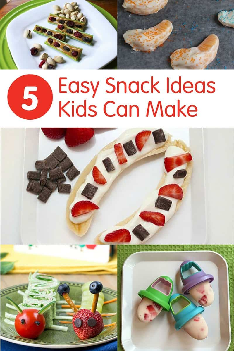 5 Easy Snack Recipes Kids Can Make