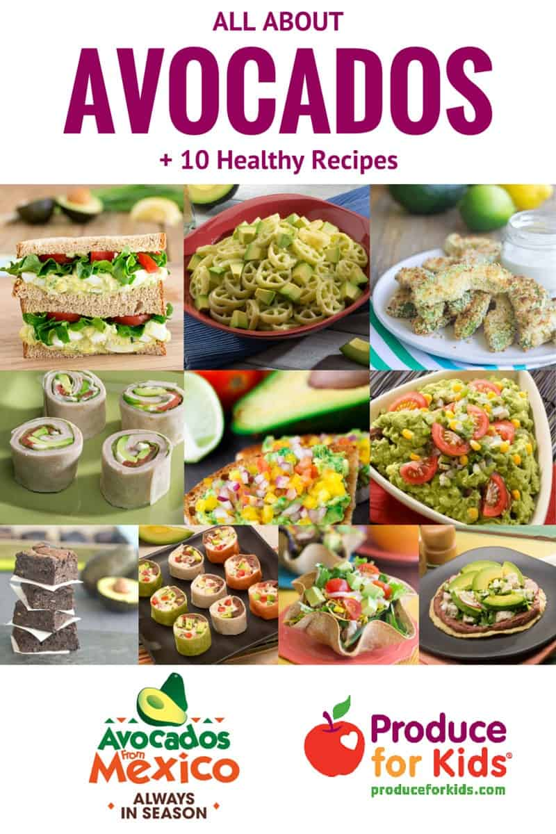 All About Avocados + 10 Healthy Avocado Recipes