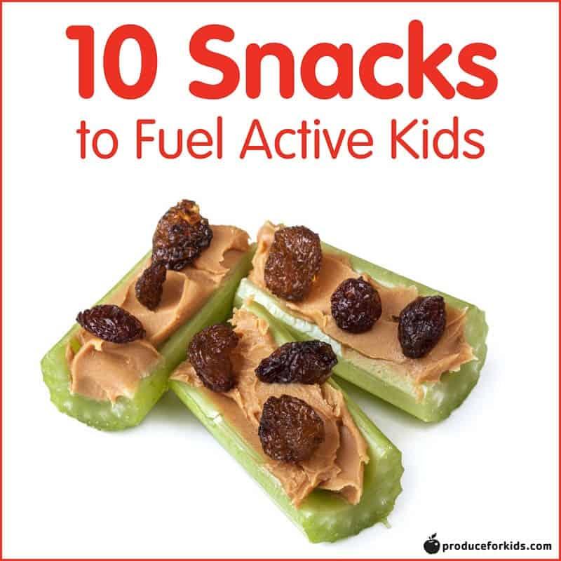 10 Snacks to Fuel Active Kids