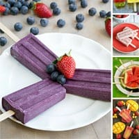 24 Healthy Fruity Popsicle Recipes for Summer