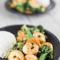 Spicy Sriracha Shrimp Stir-Fry
