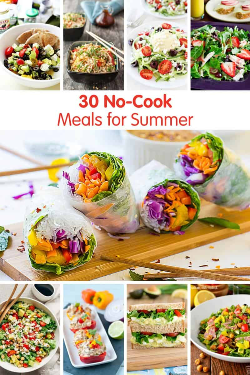 No Cook Meals For Summer