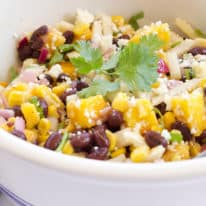 Black Bean, Mango & Jicama Salad with Honey Lime Vinaigrette