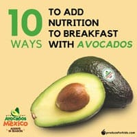 10 Ways to Add Nutrition to Breakfast with Avocados