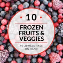 10 Frozen Fruits and Veggies to Always Have On Hand
