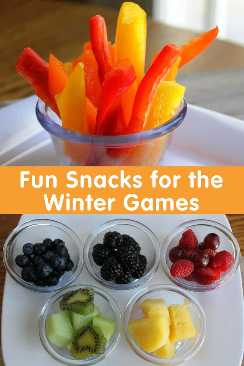 Fun Snacks for the Winter Games