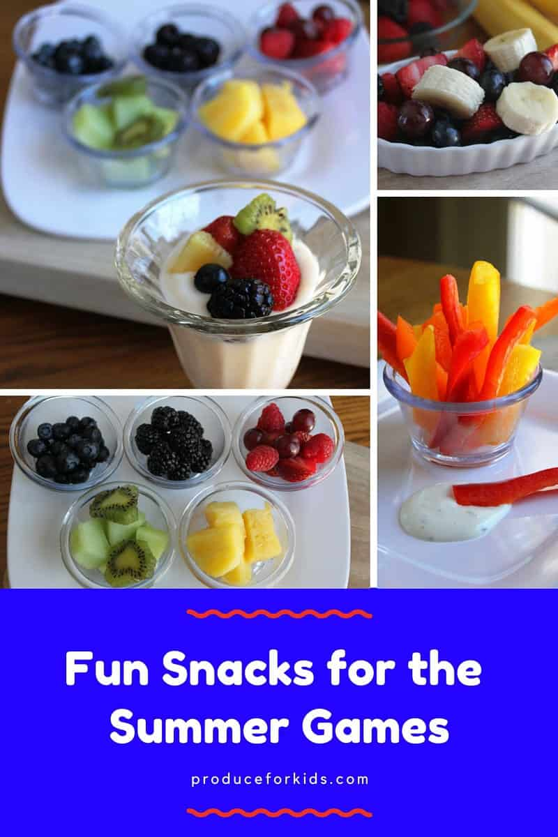 Fun Snacks for the Summer Games
