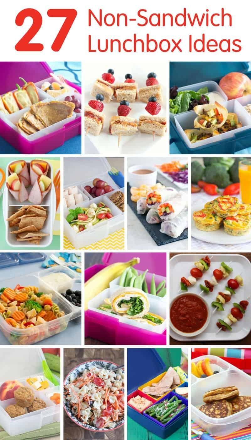 27 Non-Sandwich Lunchbox Ideas for Back to School