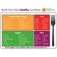 Build Your Own Healthy Lunchbox
