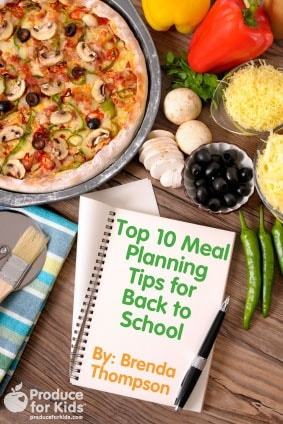 Top 10 Meal Planning Tips for Back to School