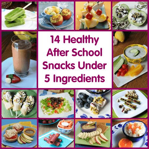 14 Healthy After School Snacks Under 5 Ingredients